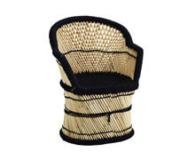 Bamboo Chair Natural Black | Decord.gr