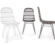 Rattan Chair Multiple Colours | Decord.gr