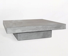 Concrcete Coffee Table Square | Decord.gr