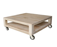 Coffee Table Docker Mango White Wash | Decord.gr
