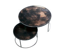 Nesting Coffee Tables Set of 2 | Decord.gr