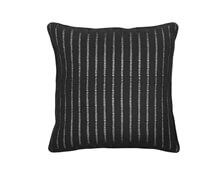 Cushion Black with Stripes 50x50 | Decord.gr
