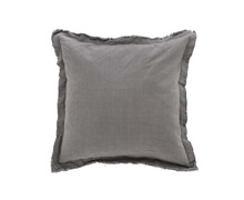 Cushion Grey Linen 50x50 | Decord.gr