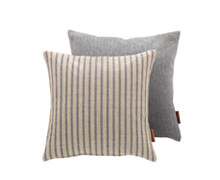Cushion Light Grey with Stripes 50x50 | Decord.gr