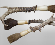 Deer Handle Brush | Decord.gr