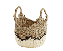 Handmade Basket White Beige | Decord.gr