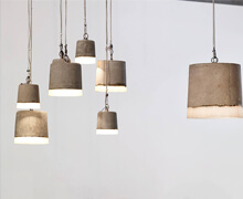 Cement Hanging Lamps | Decord.gr