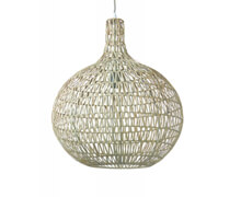 Hanging Lamp Metal Rattan | Decord.gr