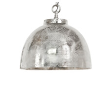 Hanging Lamp O45xH30 cm KYLIE Raw Nickel | Decord.gr