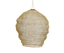 Knitted Wire Lampshade Natural | Decord.gr