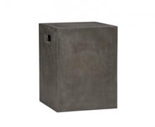 Cement Grey Sidetable Remodelista | Decord.gr
