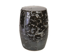 Handmade Stool Black Indoor | Decord.gr