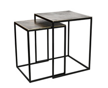 Metal Side Tables Set | Decord.gr
