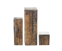 Pillar Beam Wood Raw Nickel Plate | Decord.gr