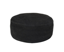 Pouf Cotton Black | Decord.gr