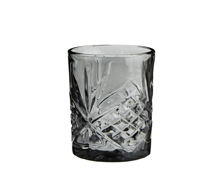 Drinking Glass Amber Black | Decord.gr