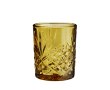 Drinking Glass Amber Yellow | Decord.gr
