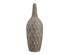 Pabou Vase Terracotta Gray Wash | Decord.gr